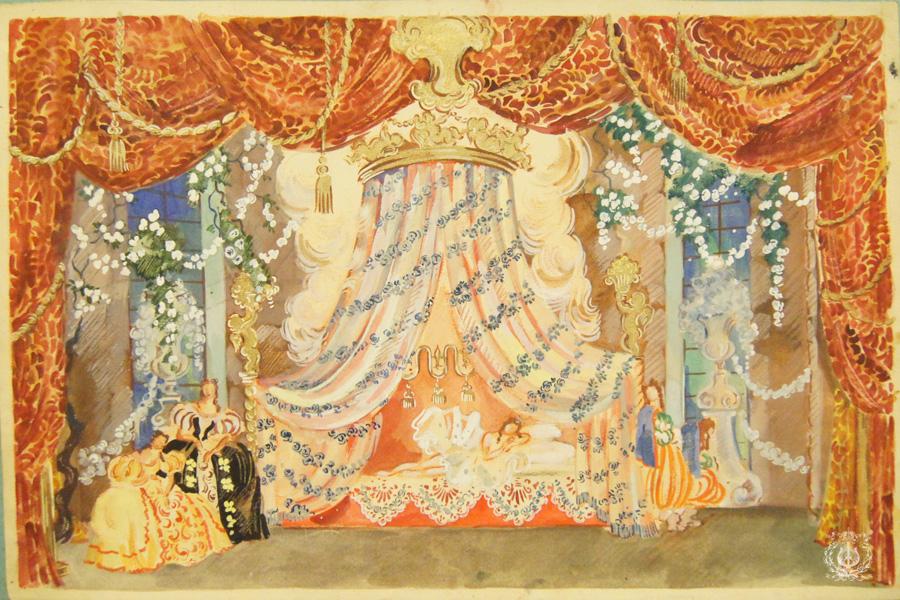 пытается костюмы и декорации к балетам чайковского фото можно