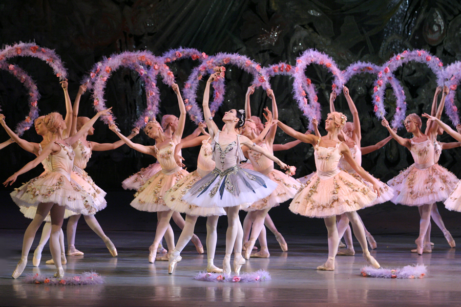 Carmen Suite Le Jardin Anime Scene From The Ballet Le Corsaire